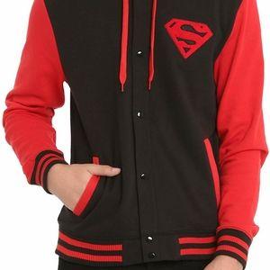 DC Superman Varsity Jacket